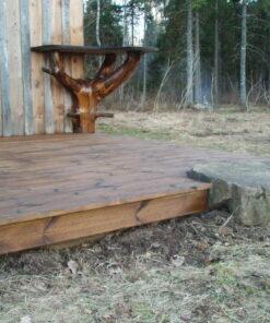 Terrassi tõrvaõliga viimistletud 2 - woodoil.ee