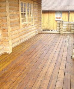 Terrassi tõrvaõliga viimistletud - woodoil.ee
