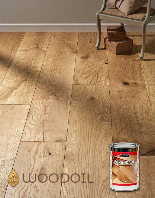 Põrandaõliga viimistletud põrand- woodoil.ee